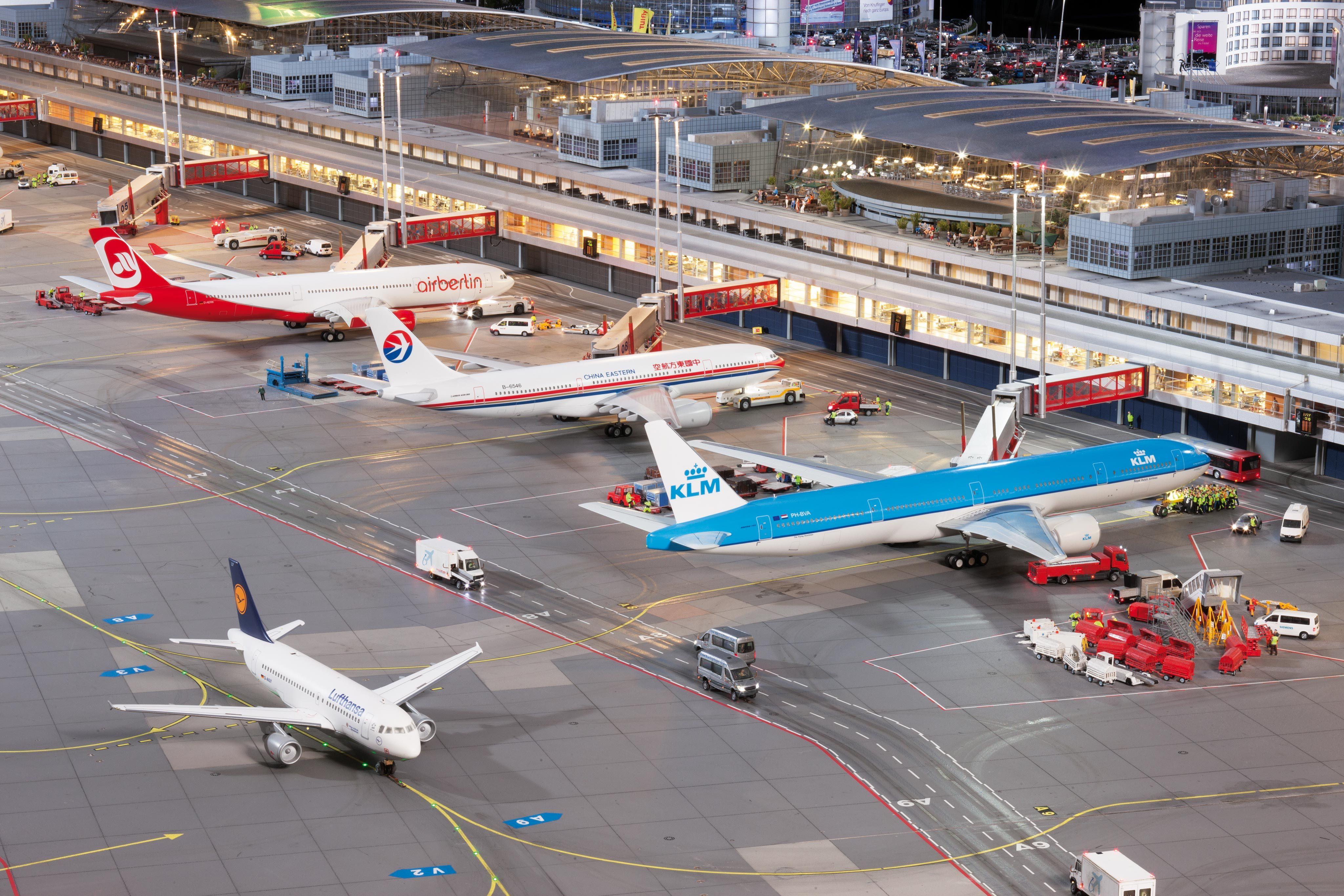 Knuffingen Airport Miniatur Wunderland Hamburg